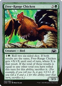 Free-Range Chicken, Magic: The Gathering, Unsanctioned
