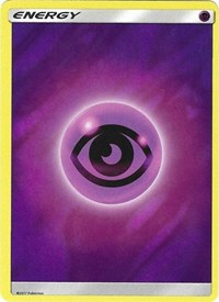 Psychic Energy (2017 Unnumbered) (Wave Foil), Pokemon, Deck Exclusives
