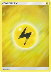 Lightning Energy (2017 Unnumbered) (Wave Foil), Pokemon, Deck Exclusives