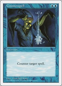 Counterspell, Magic: The Gathering, Fifth Edition
