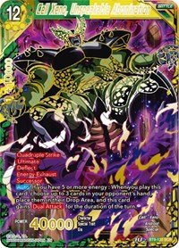 Cell Xeno, Unspeakable Abomination, Dragon Ball Super CCG, Universal Onslaught