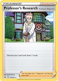 Professor's Research - 178/202, Pokemon, Deck Exclusives