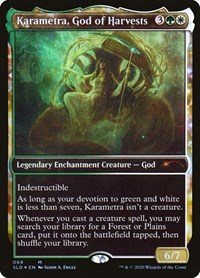 Karametra, God of Harvests (Foil)