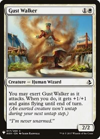 Gust Walker, Magic: The Gathering, Mystery Booster Cards