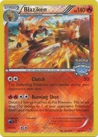 Blaziken (National Championship Promo), Pokemon, League & Championship Cards