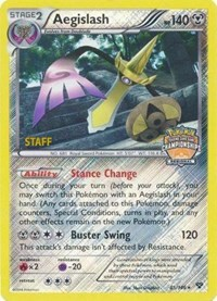 Aegislash (Regional Championship Promo) [Staff], Pokemon, League & Championship Cards