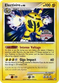 Electivire (Regional Championship Promo), Pokemon, League & Championship Cards