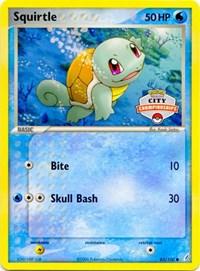 Squirtle (City Championship Promo), Pokemon, League & Championship Cards