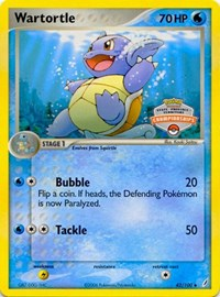 Wartortle (States Championship Promo), Pokemon, League & Championship Cards