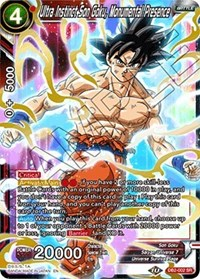 Ultra Instinct Son Goku, Monumental Presence, Dragon Ball Super CCG, Draft Box 05 - Divine Multiverse