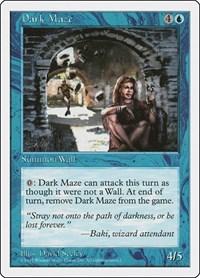 Dark Maze, Magic, Fifth Edition