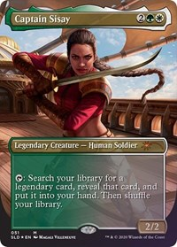 Captain Sisay, Magic: The Gathering, Secret Lair Drop Series
