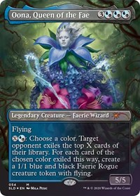Oona, Queen of the Fae, Magic: The Gathering, Secret Lair Drop Series