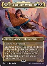 Narset, Enlightened Master, Magic: The Gathering, Secret Lair Drop Series