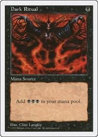 Dark Ritual, Magic: The Gathering, Fifth Edition