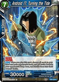 Android 17, Turning the Tide, Dragon Ball Super CCG, Draft Box 05 - Divine Multiverse