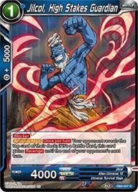 Jilcol, High Stakes Guardian, Dragon Ball Super CCG, Draft Box 05 - Divine Multiverse