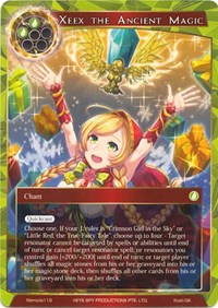 the Magus of Holy Wind Full Art Holo Force of Will WTPR Promo Fiethsing