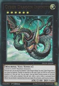 Cyber Dragon Infinity, YuGiOh, Duel Overload