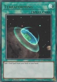 Terraforming, YuGiOh, Duel Overload