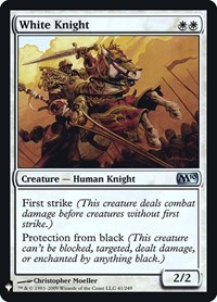White Knight, Magic: The Gathering, Mystery Booster: Retail Exclusives