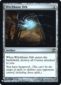 Witchbane Orb, Magic: The Gathering, Mystery Booster: Retail Exclusives