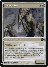 Sinew Sliver, Magic: The Gathering, Mystery Booster: Retail Exclusives