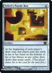 Teferi's Puzzle Box, Magic: The Gathering, Mystery Booster: Retail Exclusives