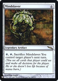 Mindslaver, Magic: The Gathering, Mystery Booster: Retail Exclusives