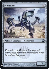 Memnite, Magic: The Gathering, Mystery Booster: Retail Exclusives