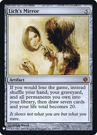 Lich's Mirror, Magic: The Gathering, Mystery Booster: Retail Exclusives