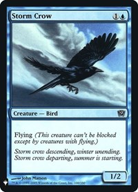 Storm Crow, Magic: The Gathering, Mystery Booster: Retail Exclusives