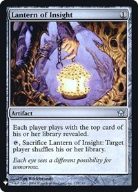 Lantern of Insight, Magic: The Gathering, Mystery Booster: Retail Exclusives