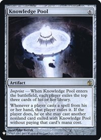 Knowledge Pool, Magic: The Gathering, Mystery Booster: Retail Exclusives