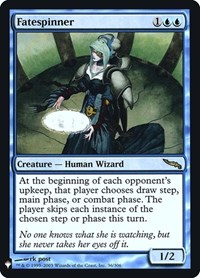 Fatespinner, Magic: The Gathering, Mystery Booster: Retail Exclusives