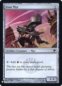 Iron Myr, Magic: The Gathering, Mystery Booster: Retail Exclusives