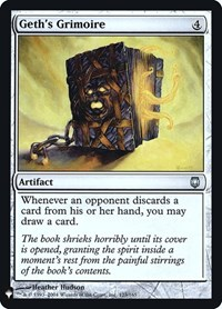Geth's Grimoire, Magic: The Gathering, Mystery Booster: Retail Exclusives