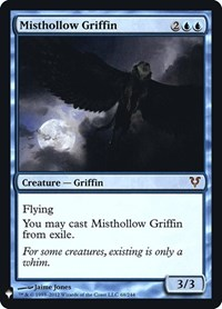 Misthollow Griffin, Magic: The Gathering, Mystery Booster: Retail Exclusives