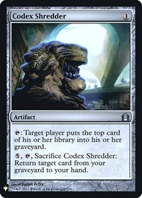 Codex Shredder, Magic: The Gathering, Mystery Booster: Retail Exclusives