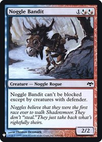 Noggle Bandit, Magic: The Gathering, Mystery Booster: Retail Exclusives