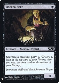 Viscera Seer, Magic: The Gathering, Mystery Booster: Retail Exclusives