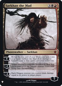 Sarkhan the Mad, Magic: The Gathering, Mystery Booster: Retail Exclusives