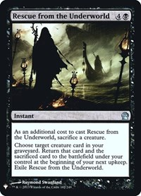 Rescue from the Underworld, Magic: The Gathering, Mystery Booster: Retail Exclusives