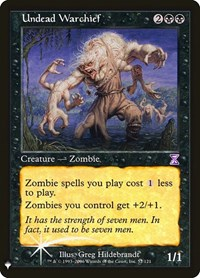 Undead Warchief, Magic: The Gathering, Mystery Booster: Retail Exclusives
