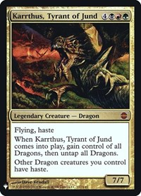 Karrthus, Tyrant of Jund, Magic: The Gathering, Mystery Booster: Retail Exclusives