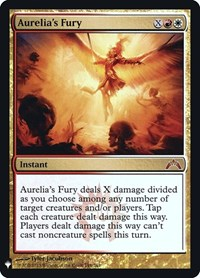 Aurelia's Fury, Magic: The Gathering, Mystery Booster: Retail Exclusives