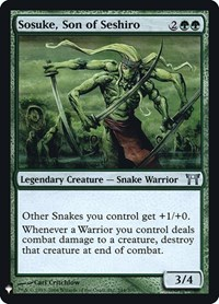 Sosuke, Son of Seshiro, Magic: The Gathering, Mystery Booster: Retail Exclusives