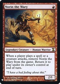 Norin the Wary, Magic: The Gathering, Mystery Booster: Retail Exclusives