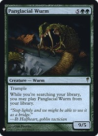 Panglacial Wurm, Magic: The Gathering, Mystery Booster: Retail Exclusives