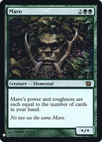 Maro, Magic: The Gathering, Mystery Booster: Retail Exclusives